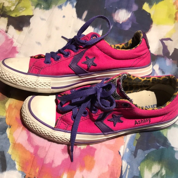 """Converse Shoes - Converse Cons All Star customized with """"Ashley"""" ea8ee7652"""